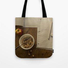 School Morning Tote Bag