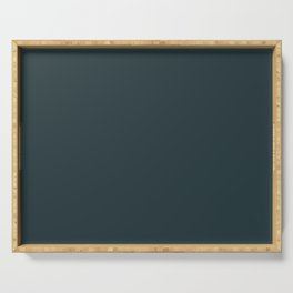 Cheap Solid Dark Slate Grey Color Serving Tray