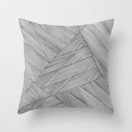 Anglinear Throw Pillow