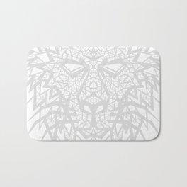 Heart of a Lion - Gray Bath Mat