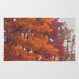 Orange Tree Rug