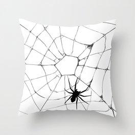 Spidey pattern Throw Pillow