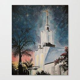 Nuku'alofa Tonga LDS Temple Canvas Print