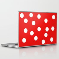polka dot Laptop & iPad Skins featuring Polka dot by Bubblemaker