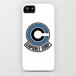capsule corp logo iPhone Case