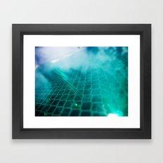 Sky Sign Framed Art Print