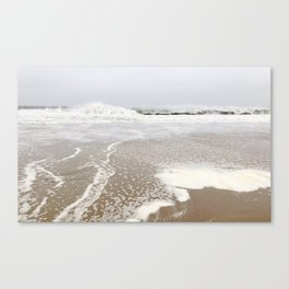 Early Mornings at the Beach Canvas Print