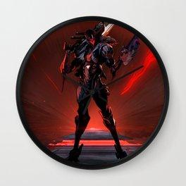 PROJECT Jhin Promo Wallpaper Background Official Art Artwork League of Legends lol Wall Clock