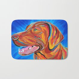 Colorful Lab Bath Mat