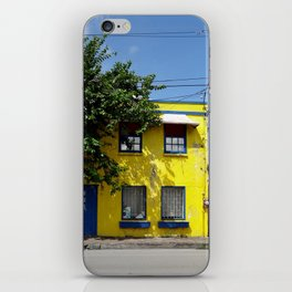 The Yellow House iPhone Skin