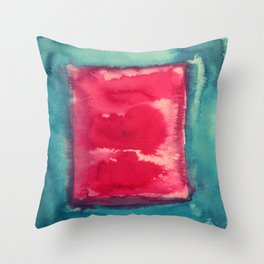 color abstract 8 Throw Pillow