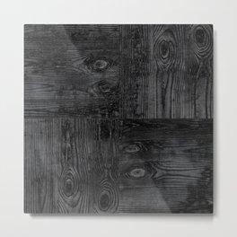 Old boards, old wood, aged wood Metal Print