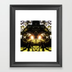 DMT Ferntree Forest Framed Art Print