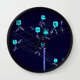 Bird Society Wall Clock
