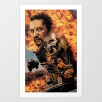 mad max Art Prints featuring Mad Max by SB Art Productions