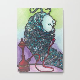 The Catapillar Metal Print