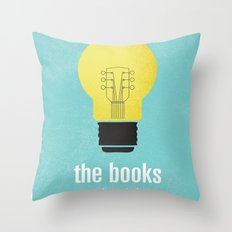 The Books Throw Pillow