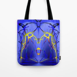 Alien Lightning Tote Bag