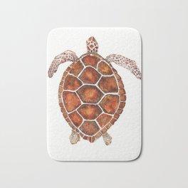 Turtle,Shell, Tortoise, Sealife, Lover, Animal Love, Brown Turtle, Wildlife, Turtle Lover, Turtles Bath Mat