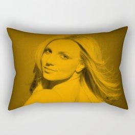 Britney Spears Rectangular Pillow