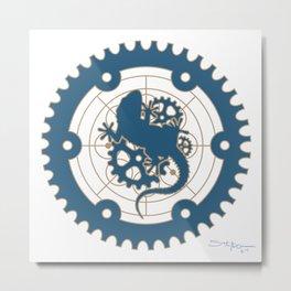 Odd Customs Logo  Metal Print