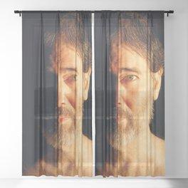 Night 2018 Sheer Curtain