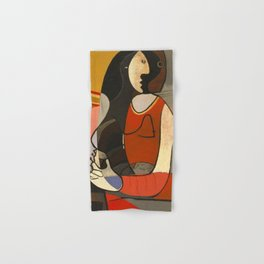 Seated Women Picasso Hand & Bath Towel