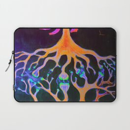 Synapses fluorescent painting Laptop Sleeve