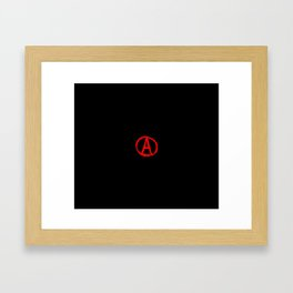 Symbol of anarchy 4 Framed Art Print