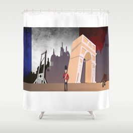 The French Revolution Shower Curtain