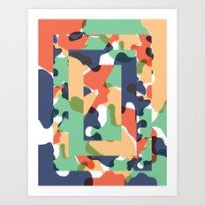 Color Study No. 1 Art Print