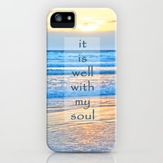 It Is Well With My Soul iPhone (5, 5s) Slim Case