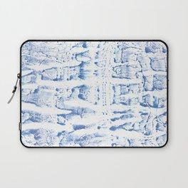 Light blue watercolor Laptop Sleeve
