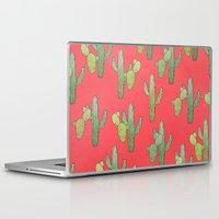 cacti Laptop & iPad Skins featuring Cacti by Megan Dignan