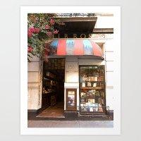 Libreria, Buenos Aires Art Print