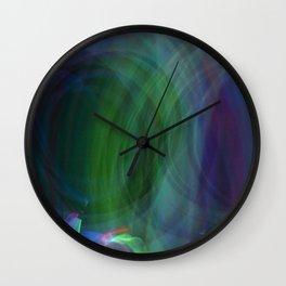 Circular Motion LightPainting Wall Clock