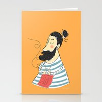 knitting Stationery Cards featuring knitting by Milla Scramignon