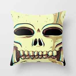 Skelly Throw Pillow