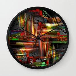Bio-Digital Wall Clock