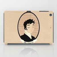 pride and prejudice iPad Cases featuring Pride and prejudice - Mr Darcy by Stravaganza