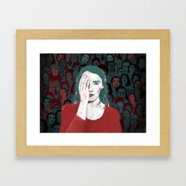 Bells Palsy (2 of 2) Framed Art Print