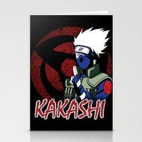 kakashi Stationery Cards featuring KAKASHI by BradixArt