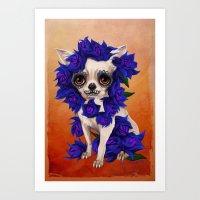 Chihuahua of Death Art Print