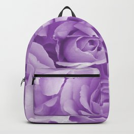 Violet Rose Bouquet For You - Valentine's Day #decor #society6 #homedecor Backpack