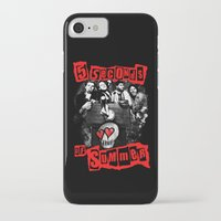 5 seconds of summer iPhone & iPod Cases featuring FIVE SECONDS  by dan ron eli