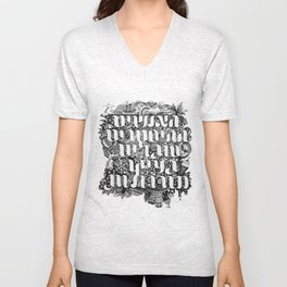 The hysterical people Unisex V-Neck