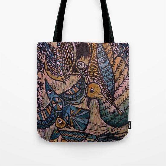 Birds (2) Tote Bag
