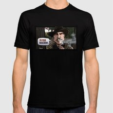 I'm Your Huckleberry (Tombstone) Black X-LARGE Mens Fitted Tee