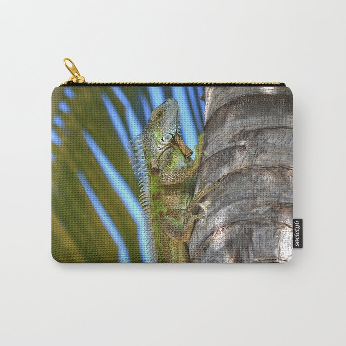 Iguana - Grand Cayman Carry-All Pouch