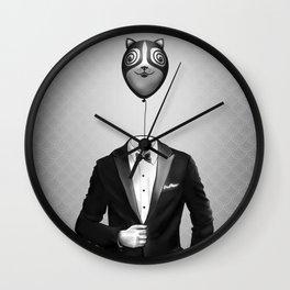 Mr. Kitty Wall Clock